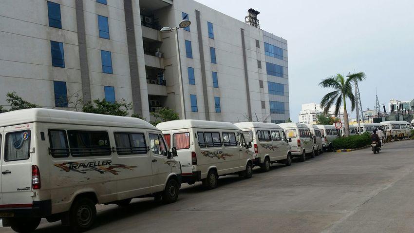 Softwarecompany Cab Service Vehicle Parking Queue Up Pickup Drop