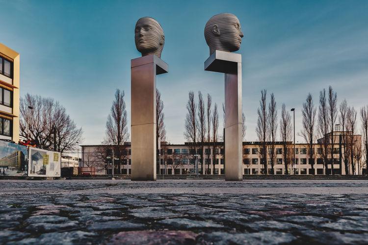 Statue Heads