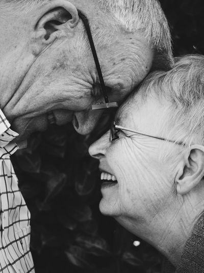 old couple in love #Amsterdam  #INLOVE #couple #elderly #glasses  #grey #greyhair #hair #holland #love #lovers #netherlands #old #oldcouple #people #portrait #portraitphotography #smile #smiling #thenetherlands #wrinkle #wrinkles Close-up Headshot First Eyeem Photo