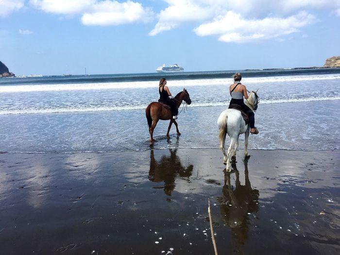 San Juan del Sur Horseback Riding Sea Beach Outdoors Nicaragua