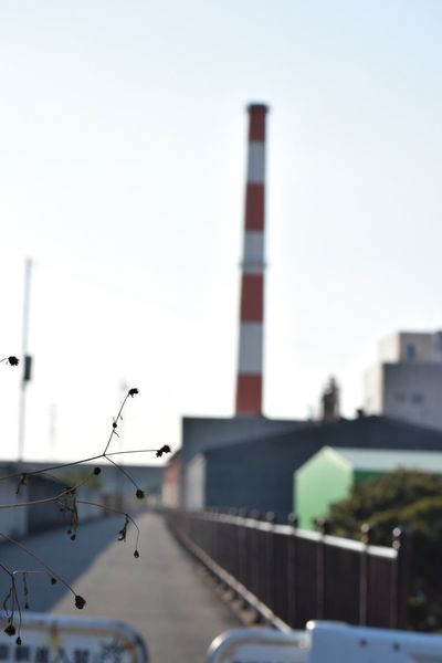 Focus On Foreground Streetphotography 生きる Life Force Day 工場 Built Structure 煙突