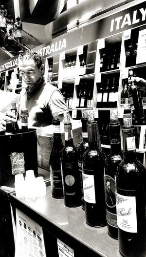 Wine International Wine Fair Suntec City Singapore Monochrome Monochrome Collection Eyeem Monochrome