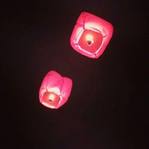 Lanterne Cinesi Desideri Sky night