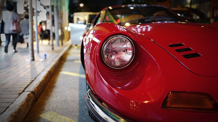 Ferrari Deno GT. HongKong Discoverhongkong Streetphotography Streetphoto_color Ferrari FerrariDinoGT Hello World EyeEm Best Shots Walking Around Tsimshatsui