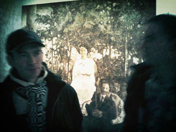 """Богдан Мамонтов """"Народ по пути встречал его густыми ликующими толпами..."""", 2013 FrolovGallery @wnzvd"""