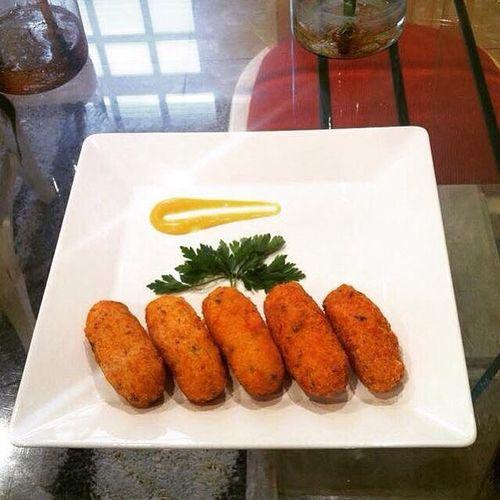 Bolinho de bacalhau Gastronomy Gastronomía Gastronomie Food Professionalcook Chef First Eyeem Photo