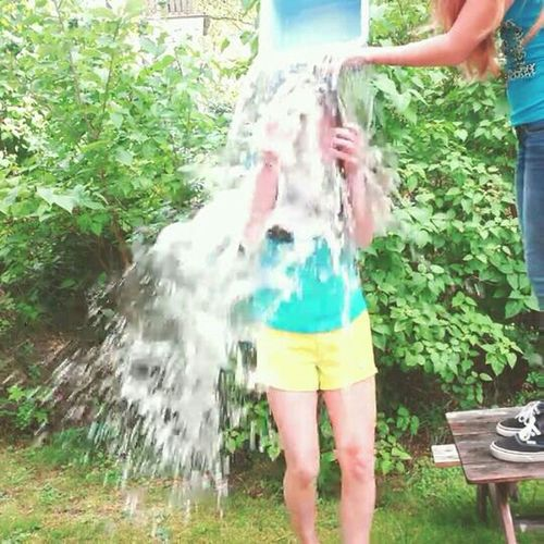 Here is a picture of my ALS Ice Bucket Challenge ALS Ice Bucket Challenge Ice Bucket Challenge