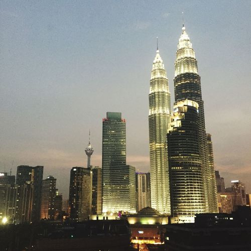 Klcc Petronas Twin Towers Photography Building Architecture