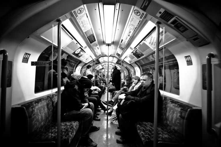 The Commuters on this Tube Train looked absolutely shattered! Love the variety of characters you can find in these locations. Tubetrain London Blackandwhite Black And White Black And White Photography People People Watching People Photography Peoplephotography