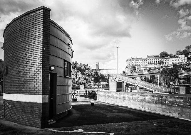 Bristol Clifton Suspension Bridge Hotwells EyeEm Best Shots Blackandwhite Bw_collection Bw City Cityscapes