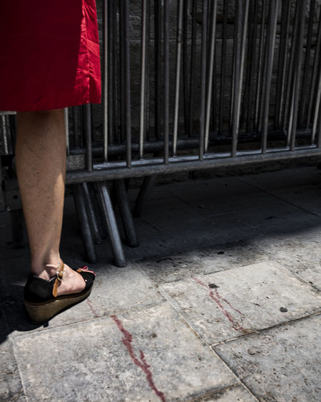 blood. France Lifestyle Peopla And Places The Creative - 2018 EyeEm Awards The Street Photographer - 2017 EyeEm Awards Arles Arles 2018 Arles Photo Festival Blood One Person Outdoors Streetphotography
