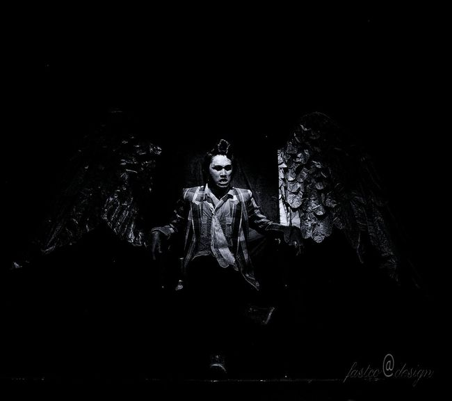 Actor.. Teater Bitung Nikon Art ... North Sulawesi - Indonesia