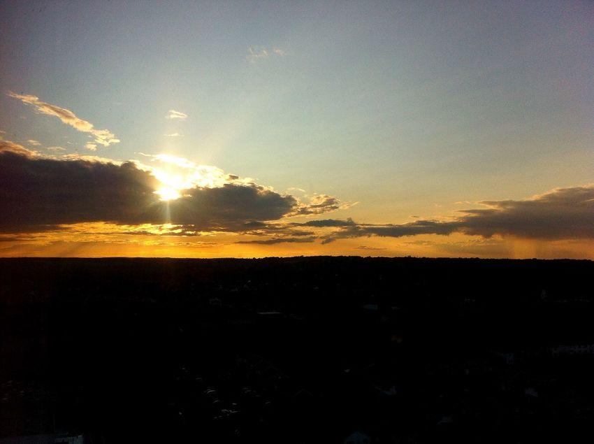 Do happy I get to see sunset everyday! Taking Photos Sunset KDTower Enjoyingtheview
