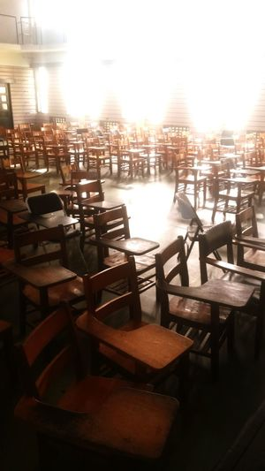 The Places I've Been Today Last Class Lectures Emptiness Auditorium Afternoon Delight