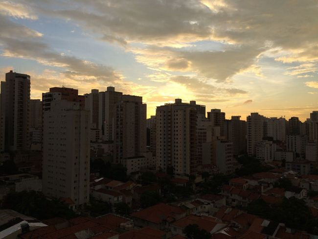 SAO PAULO BRAZIL Architecture Building Exterior Built Structure City Cityscape Day Growth Modern No People Outdoors Residential  Sky Skyscraper Sunset