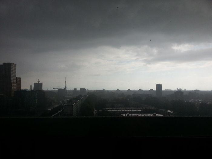Vu University Amsterdam Zuidas Rain city