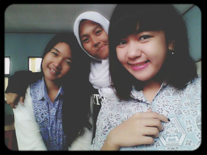 selfie and my frend