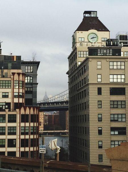 Urban Geometry Urban Landscape Architecture_collection Manhattan Bridge Empire State Building