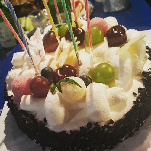 먹스타그램 케이크 애인