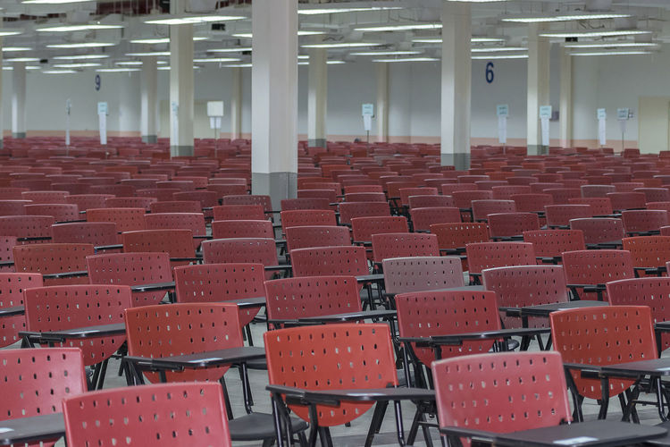 Absence Architecture Auditorium Chair Day Education Empty In A Row Indoors  Lecture Hall No People Seat Table