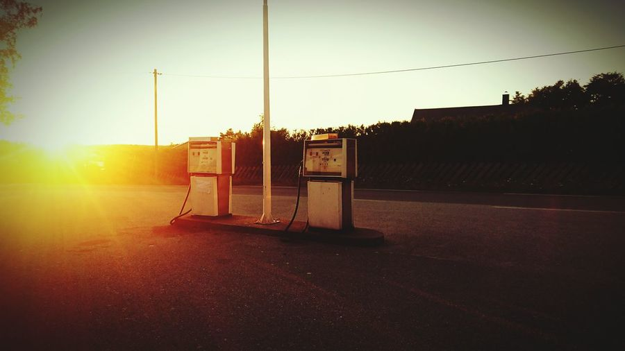 First Eyeem Photo Old Gas Pumps Sunset Your Ticket To Europe