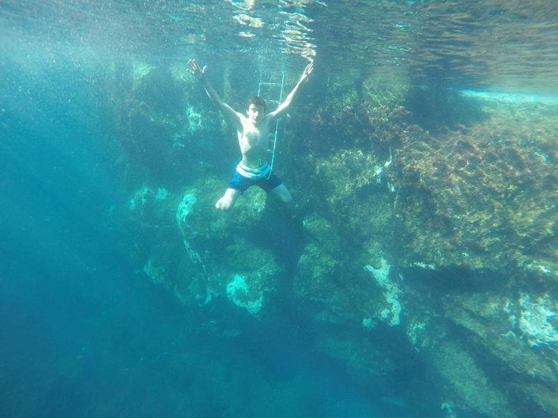 Faial Island Underwater Photography Atlantic Ocean Capelinhos Azores Islands Portugal