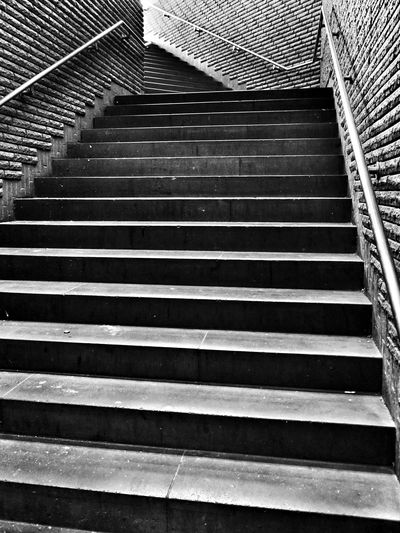 Blackandwhite Staircase Lookingup Just Around The Corner in Bonn