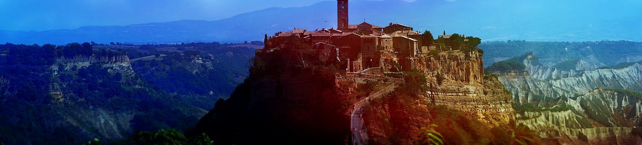 Umbrien Civita Di Bagnoregio Stadt Panorama Panoramic Photography Panoramic View Italia Outdoor Fotografie Fotography Fotografia Photo Photography Photooftheday Photographer Foto Lost In The Landscape