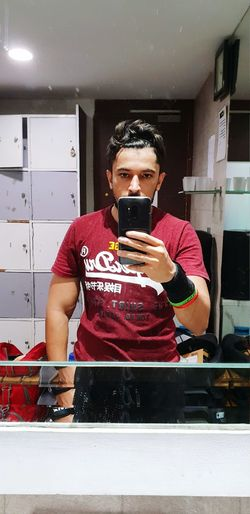 Fitness Gym Time Afterworkout Superdry Mirrorimage