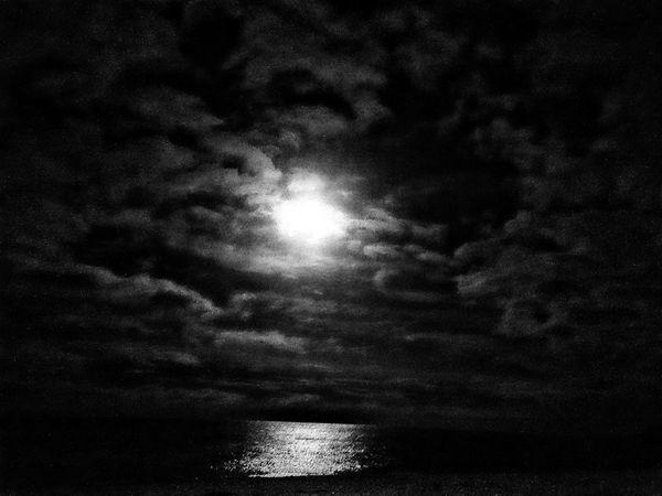Moonlight Blackandwhite Photography Bray, Ireland
