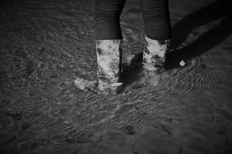 Ankle Deep In