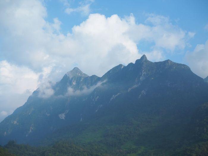 Mountain sky