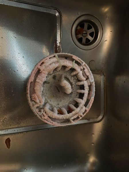 Dirty jobs 😒 Need To Clean Calcare Dirt Filter Dish Washer Sink Drain EyeEm Selects No People Indoors  Metal Close-up Technology Directly Above
