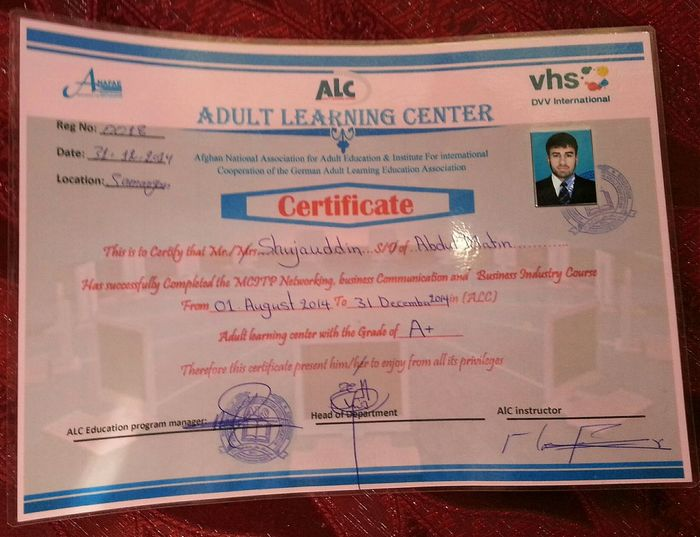This is sertifikit of networking Enjoying Life First Eyeem Photo