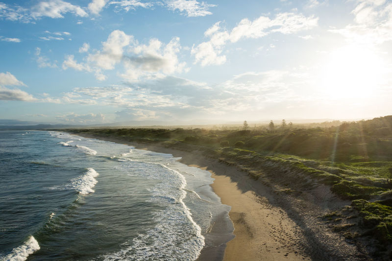 Australia Beach Flare Flares Landscape Landscape_Collection Landscape_photography Landscapes Landscapes With WhiteWall Nature Ocean Ocean View Sea Sunset Sunset_collection Sunsets Waves