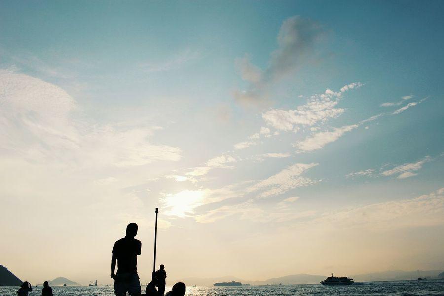2015 Life In Hong Kong · Hong Kong Sun Sea And Sky Nature Photography Enjoying Life Eye4photography  Photooftheday Seascape