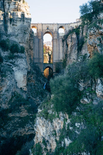 Ronda / Spain Ronda Ronda Andalucia Ronda Bridge Ronda Spain Ronda, Malaga Tourist Tourist Attraction  Ancient Ancient Civilization Arch Architecture Bridge Building Exterior Built Structure Day History Mountain Nature No People Old Ruin Outdoors Rock - Object Sierra Nevada Sky Tourism Tree