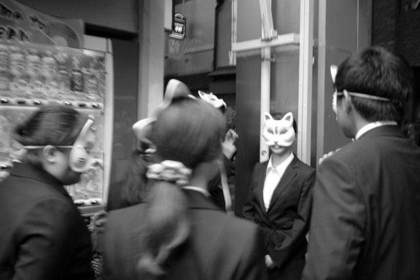 Masked Mask Blackandwhite Bw Monochrome Leica M9-p Color Skopar 35mm F2.5c Society People Unknown Voigtlander Lens