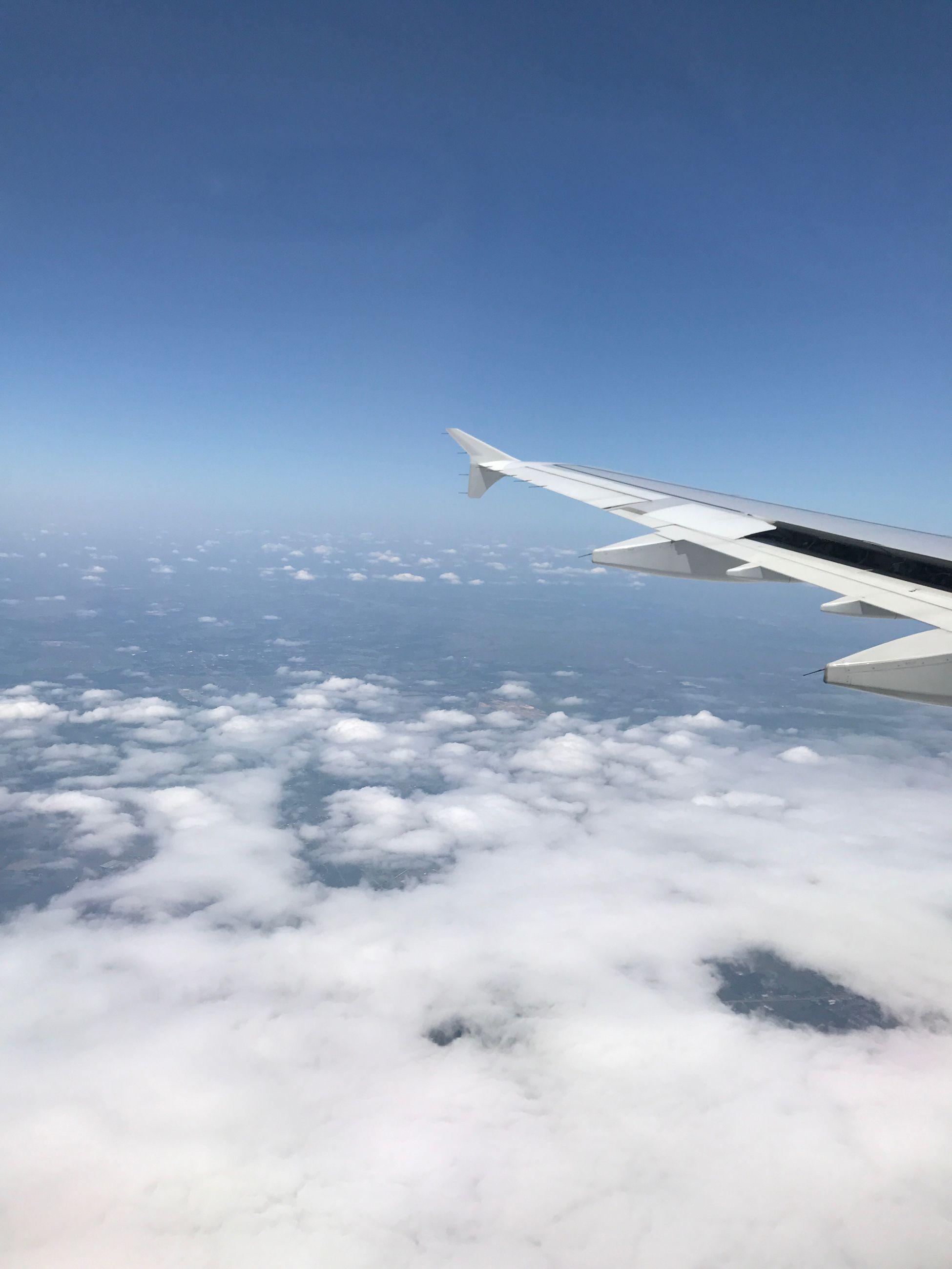 airplane, transportation, sky, journey, nature, aerial view, mode of transport, cloud - sky, flying, airplane wing, day, scenics, travel, air vehicle, outdoors, no people, blue, aircraft wing, beauty in nature