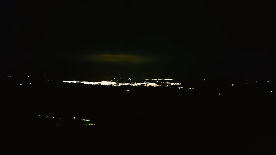 City Lights Montain