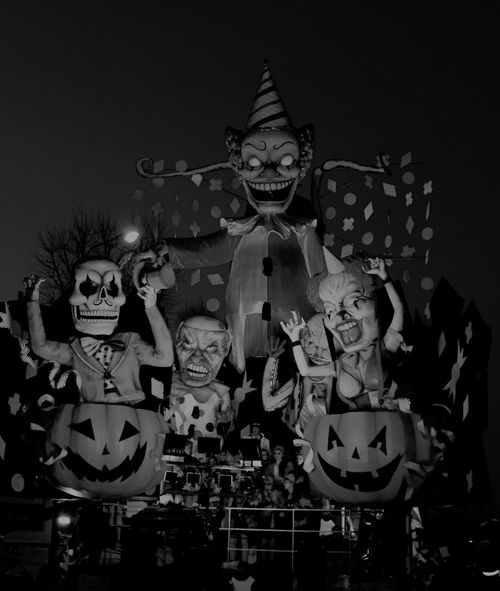 Carneval Carnevale EyeEm Best Shots Carnevaledifano Clown Clowns Carrodicarnevale Blackandwhite Black And White Black & White