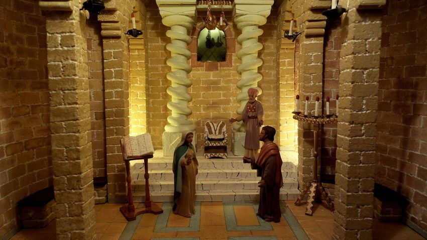 Christmas Dioramas Church St Pere De Reus NativityScene