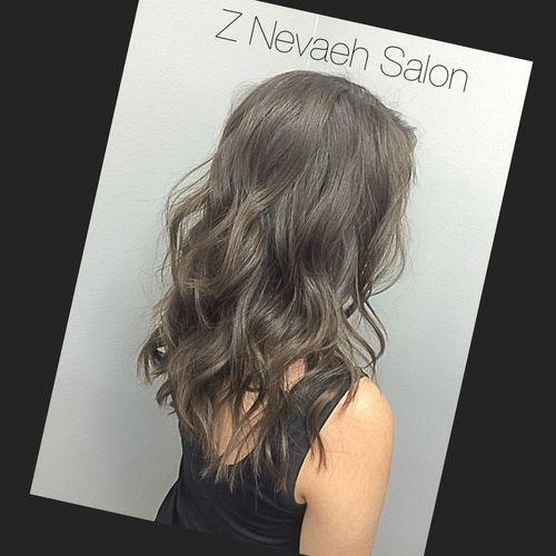 Beautiful long Textured Haircut yeah Spiral Curls by Z Nevaeh Salon