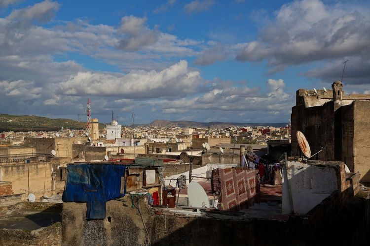 Old town in morocco