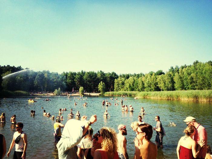 Nation of Gondwana Swimming Enjoying The Sun Summer Festival