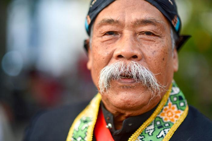 Yogyakarta Kraton Beard Focus On Foreground Headshot Men Mustache One Man Only One Person One Senior Man Only Outdoors People Portrait Senior Adult Senior Men