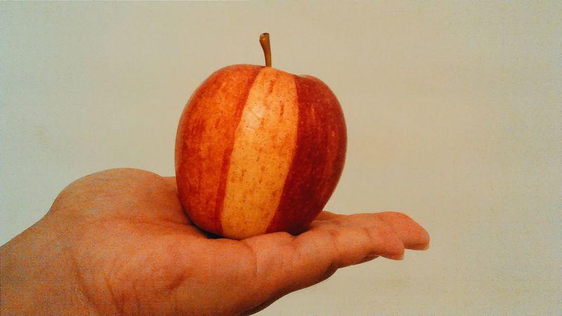 Apple Fruit Taking Photo VSCO Cam