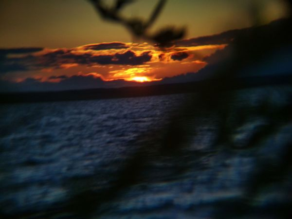 Sunset Power In Nature Sea Dramatic Sky Sky Close-up Cloud - Sky