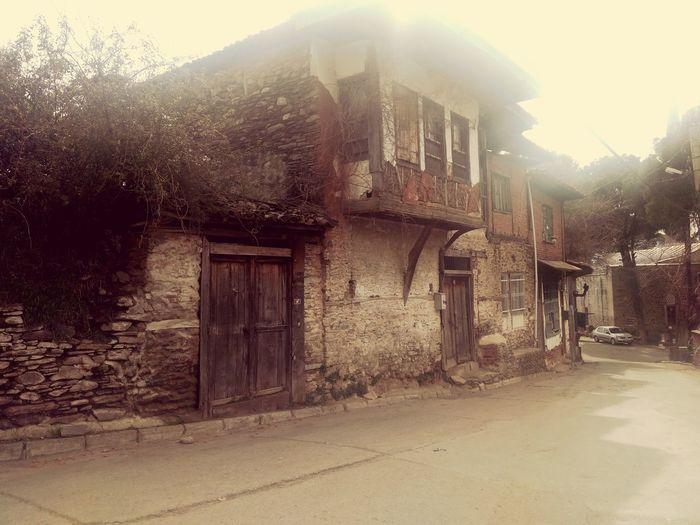 Cleain Air Ruin Home Village Turkey Izmir Beautiful Nature