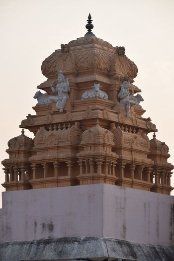 temple South India Culture Nikon Nikond5300 Beauty Day Day Photography Banglore Banglorediaries Place Of Worship Business Finance And Industry Sunset Religion Ancient Civilization Monument Architecture Sky Building Exterior Built Structure